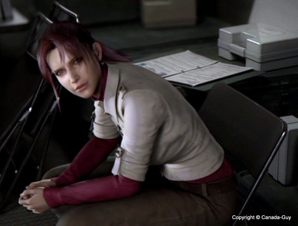Something is. claire redfield porno xxx right!