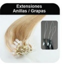 Extensiones - Anillas y grapas
